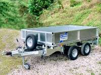 LT Series Flatbed Trailer